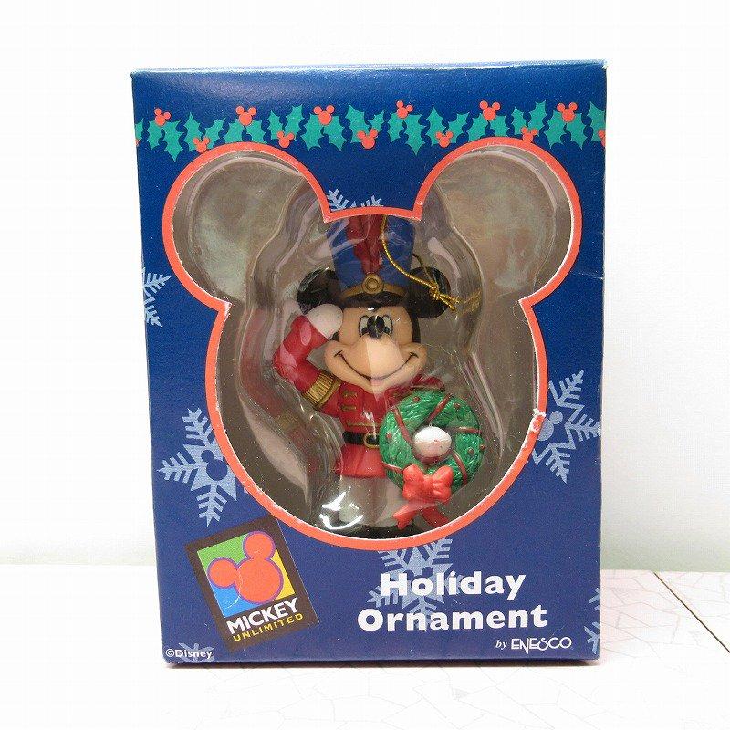 ミッキーマウス 箱付 クリスマス オーナメント マーチ と リース【画像8】