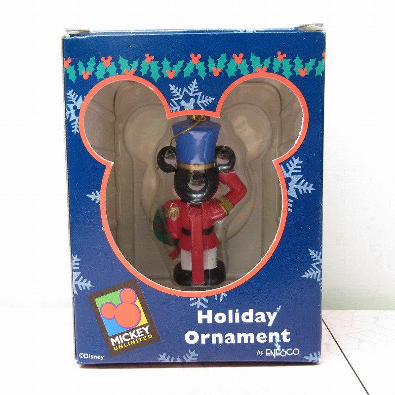ミッキーマウス 箱付 クリスマス オーナメント マーチ と リース【画像10】