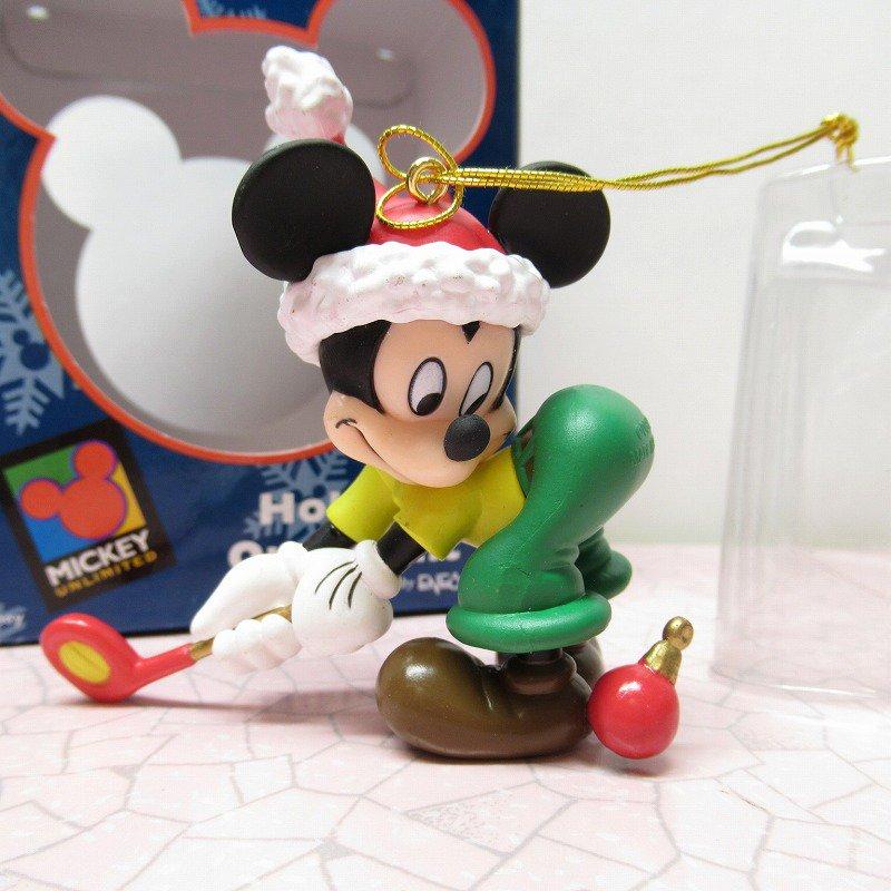 ミッキーマウス 箱付 クリスマス オーナメント オーナメント と ゴルフ