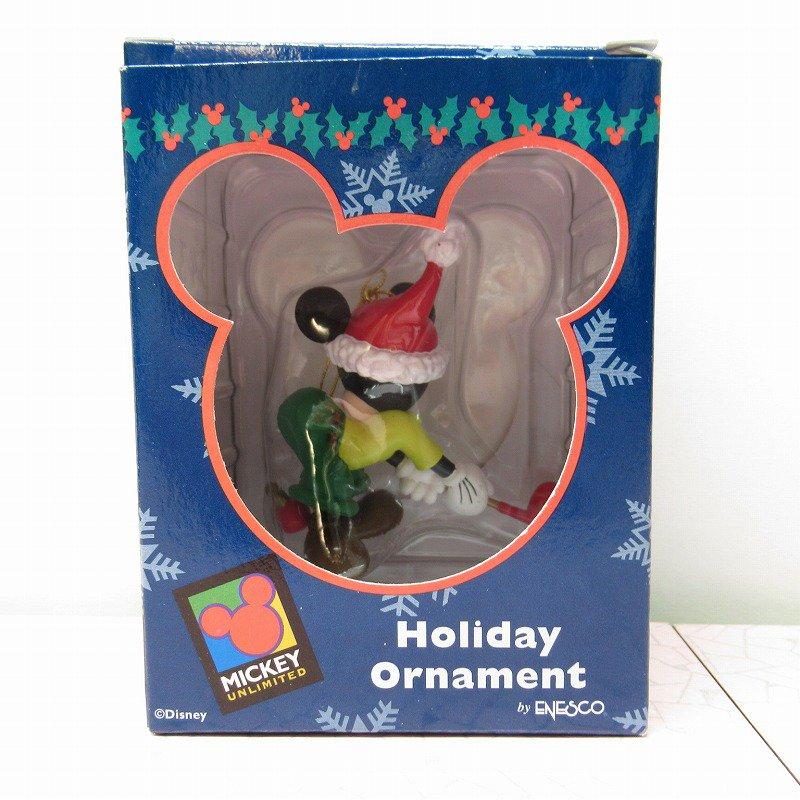 ミッキーマウス 箱付 クリスマス オーナメント オーナメント と ゴルフ【画像11】