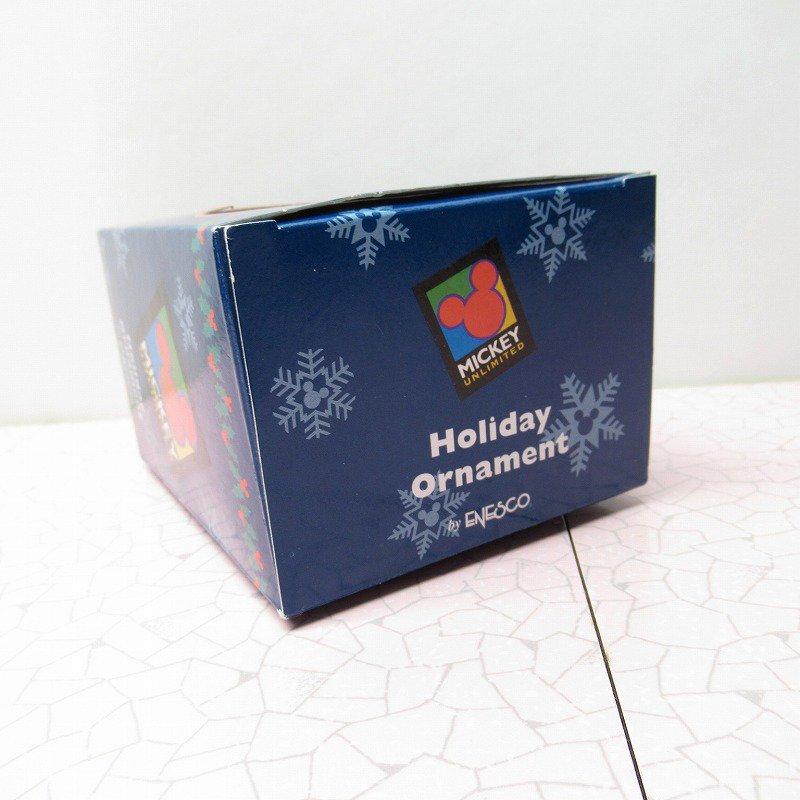 ミッキーマウス 箱付 クリスマス オーナメント オーナメント と ゴルフ【画像13】