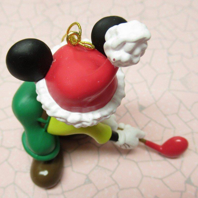 ミッキーマウス 箱付 クリスマス オーナメント オーナメント と ゴルフ【画像6】