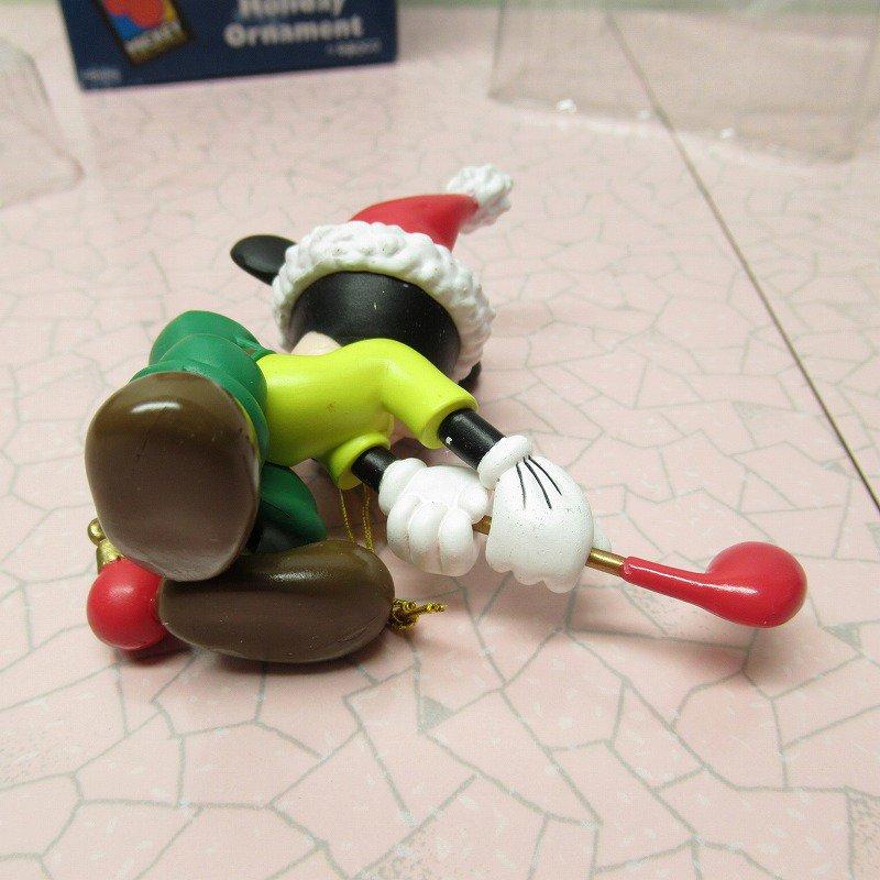 ミッキーマウス 箱付 クリスマス オーナメント オーナメント と ゴルフ【画像7】