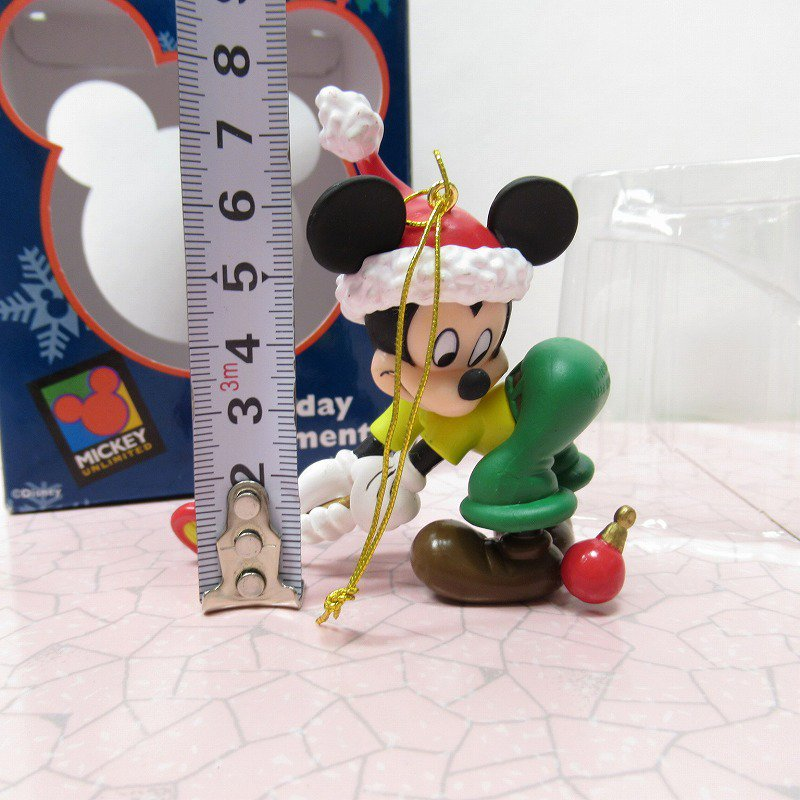 ミッキーマウス 箱付 クリスマス オーナメント オーナメント と ゴルフ【画像8】