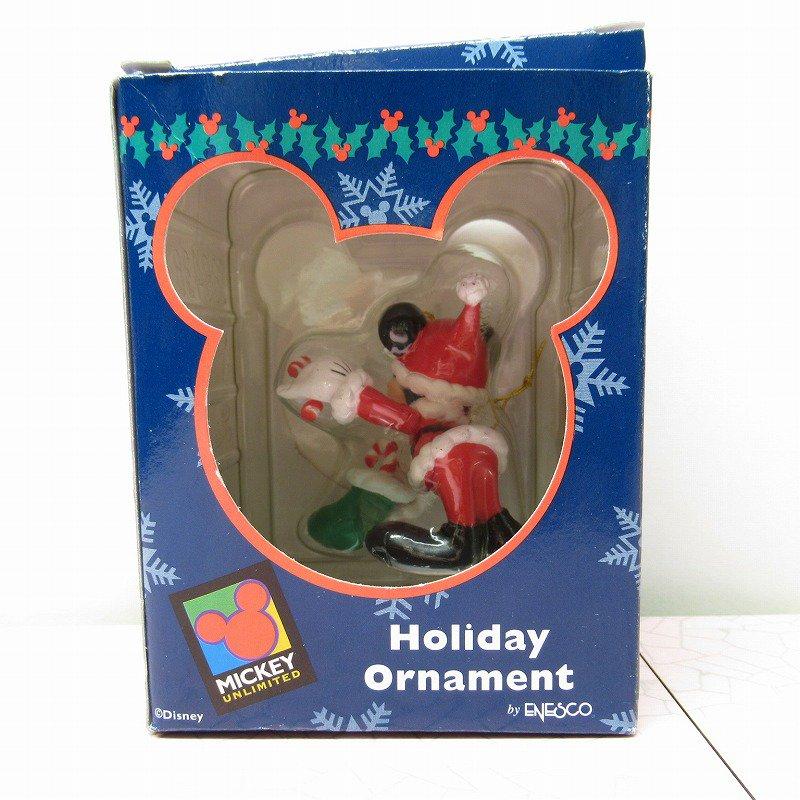 ミッキーマウス 箱付 クリスマス オーナメント 靴下 と キャンディケーン【画像11】