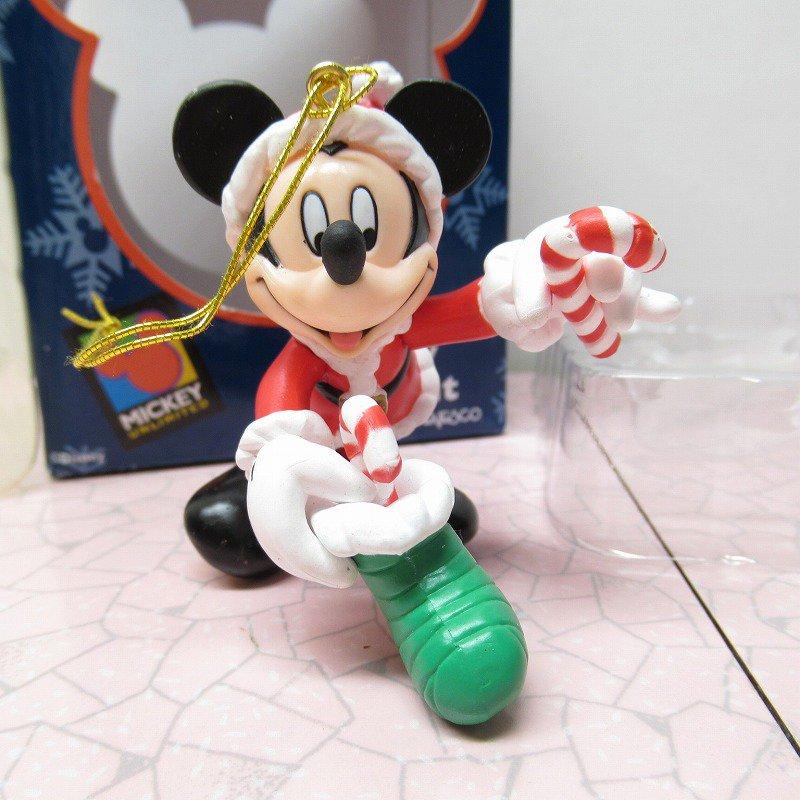 ミッキーマウス 箱付 クリスマス オーナメント 靴下 と キャンディケーン【画像3】