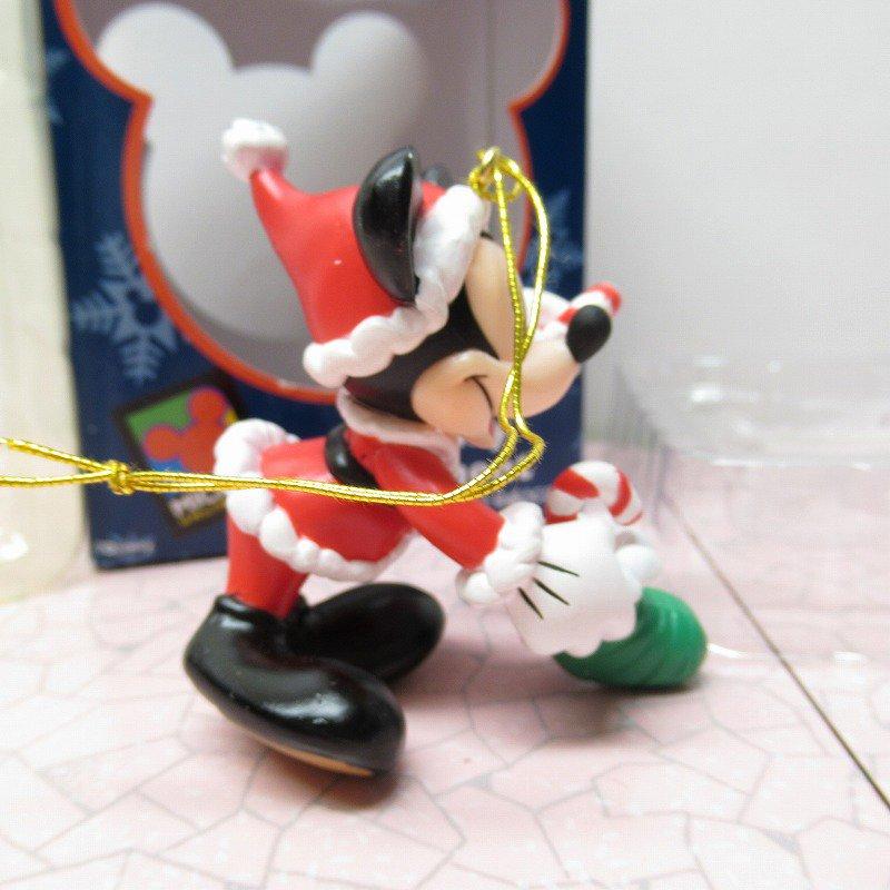 ミッキーマウス 箱付 クリスマス オーナメント 靴下 と キャンディケーン【画像4】
