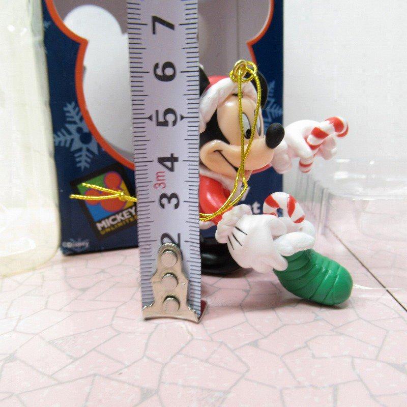 ミッキーマウス 箱付 クリスマス オーナメント 靴下 と キャンディケーン【画像7】