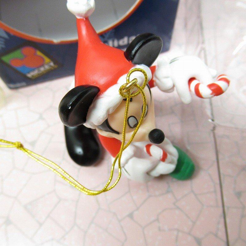 ミッキーマウス 箱付 クリスマス オーナメント 靴下 と キャンディケーン【画像8】