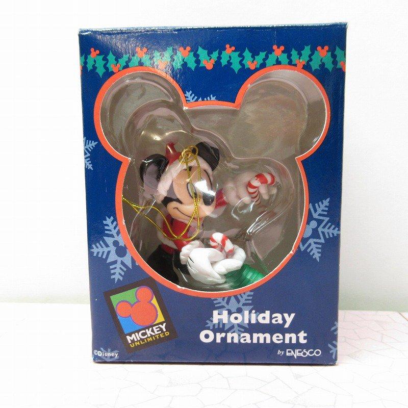 ミッキーマウス 箱付 クリスマス オーナメント 靴下 と キャンディケーン【画像9】