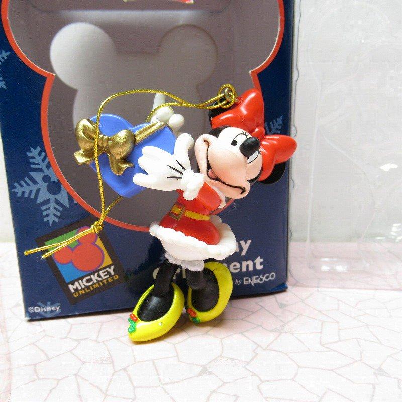 ミッキーマウス ミニー 箱付 クリスマス オーナメント ハートのプレゼント【画像2】