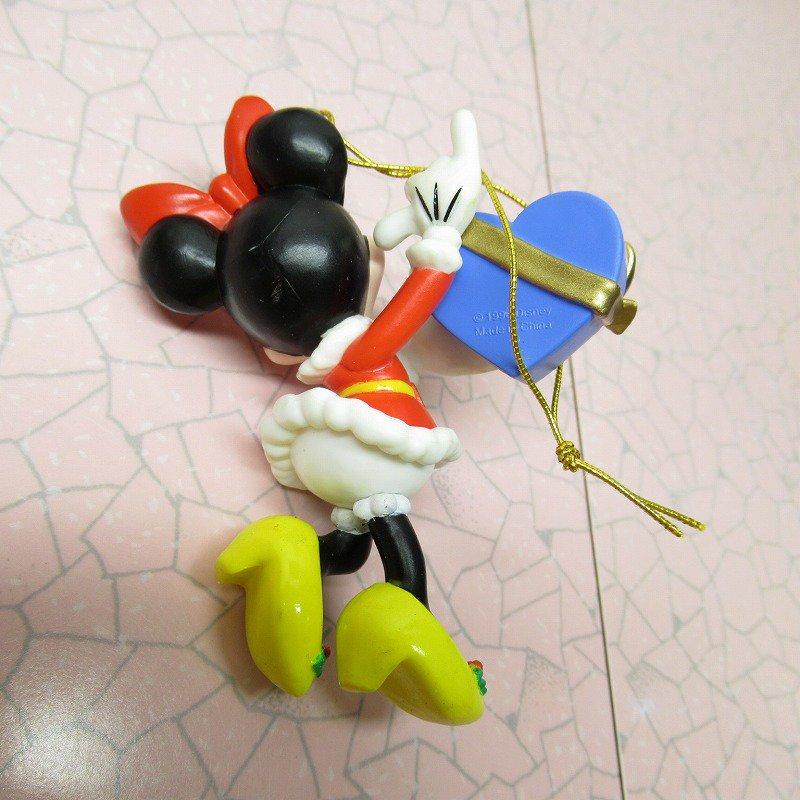 ミッキーマウス ミニー 箱付 クリスマス オーナメント ハートのプレゼント【画像5】