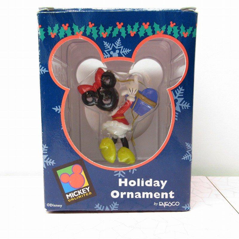 ミッキーマウス ミニー 箱付 クリスマス オーナメント ハートのプレゼント【画像10】