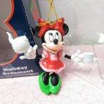 ツリーにつけるオーナメント  ミッキーマウス ミニー 箱付 クリスマス オーナメント ティータイム