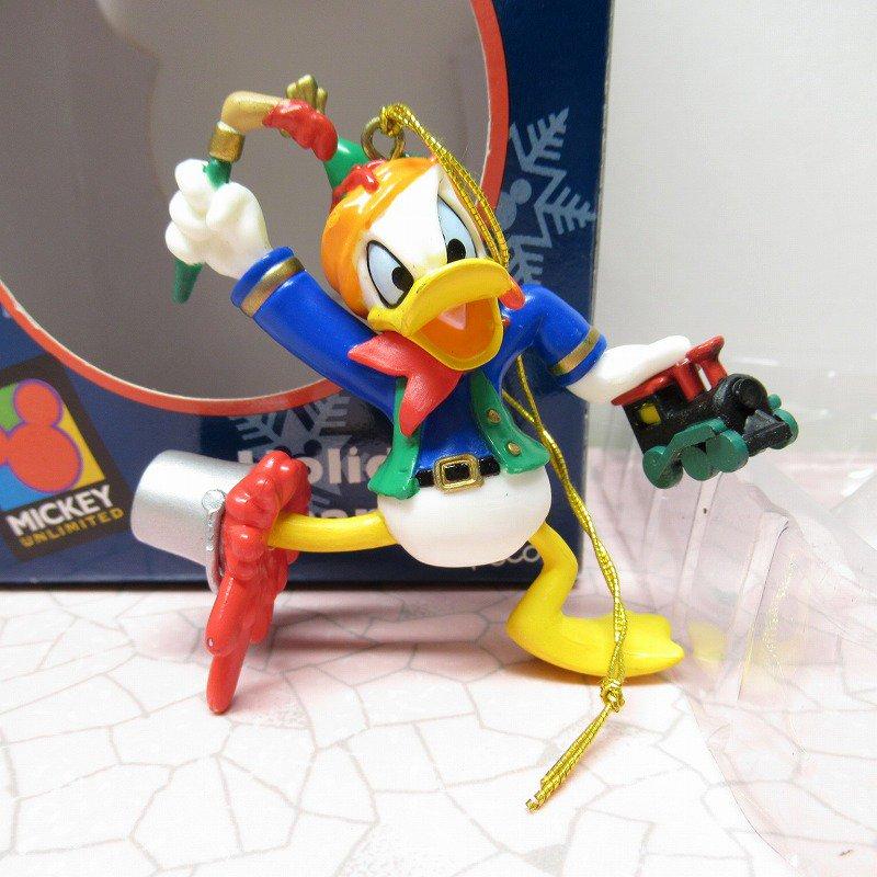 ミッキーマウス ドナルド 箱付 クリスマス オーナメント おもちゃ作り