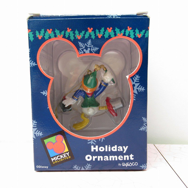 ミッキーマウス ドナルド 箱付 クリスマス オーナメント おもちゃ作り【画像10】