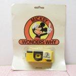 ミッキーマウス Mickey Wonders Why トイ デッドストック