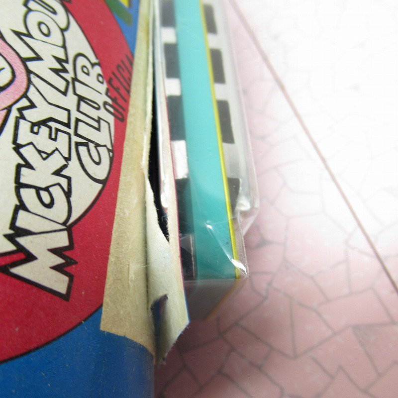 ミッキーマウス クラブ 公式 ハーモニカ デッドストック【画像4】