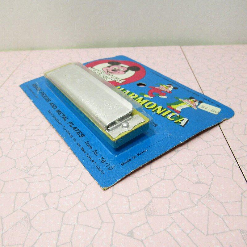 ミッキーマウス クラブ 公式 ハーモニカ デッドストック【画像5】