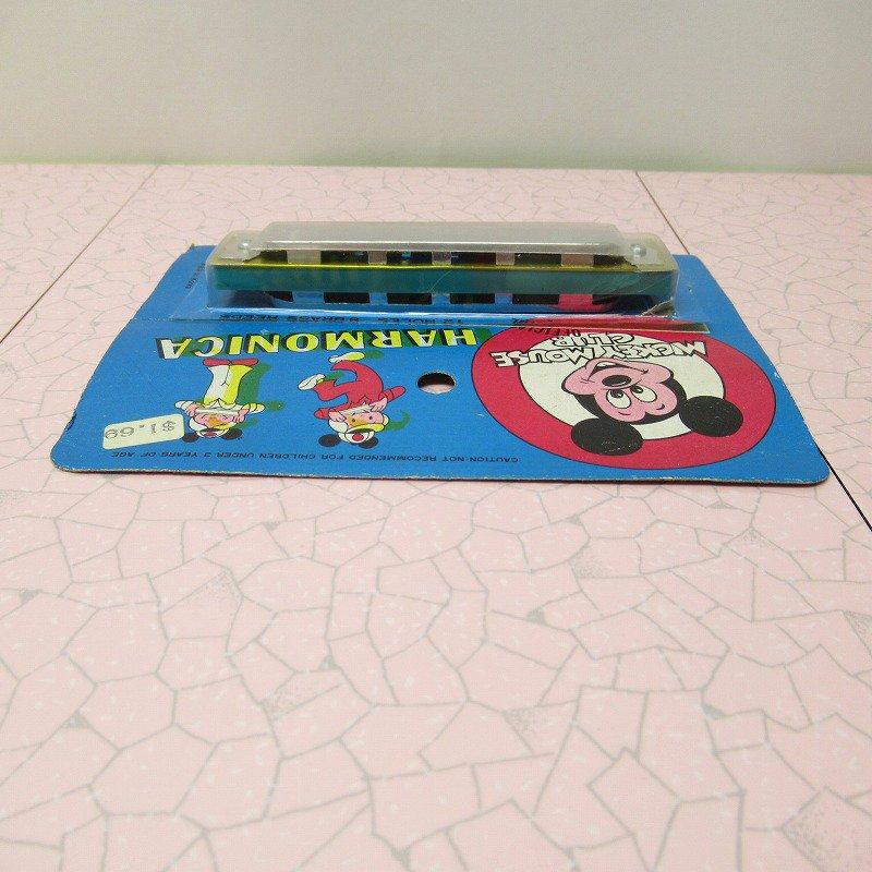 ミッキーマウス クラブ 公式 ハーモニカ デッドストック【画像7】