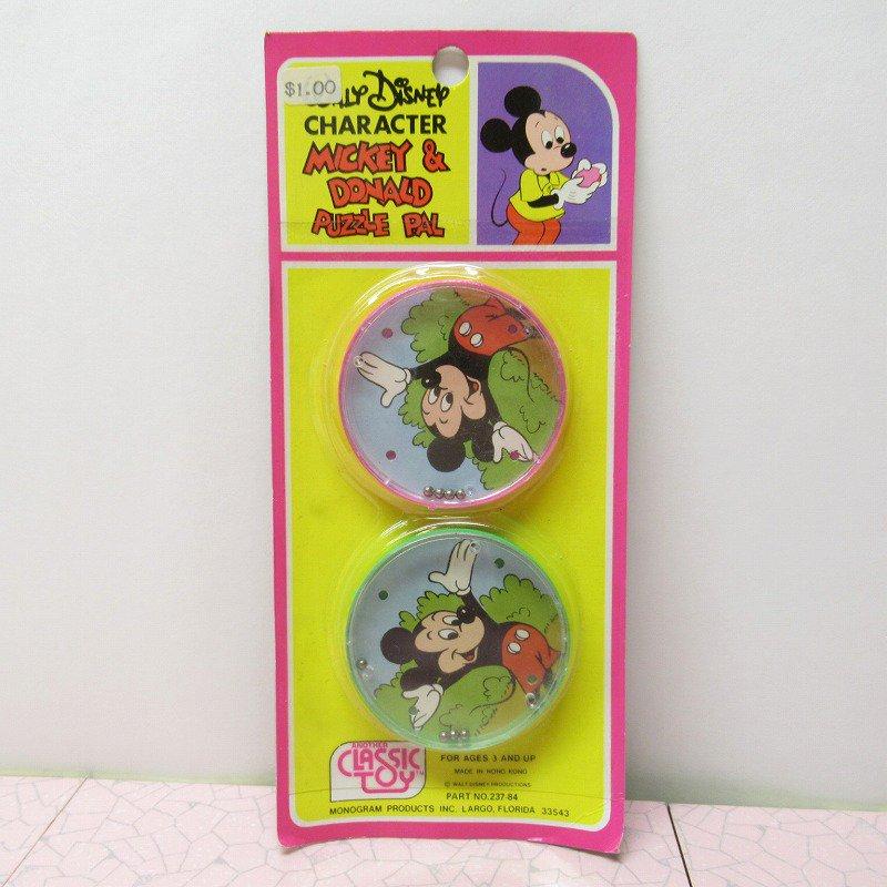 ミッキー プラスチック製 パズル デッドストック イレギュラー品【画像3】