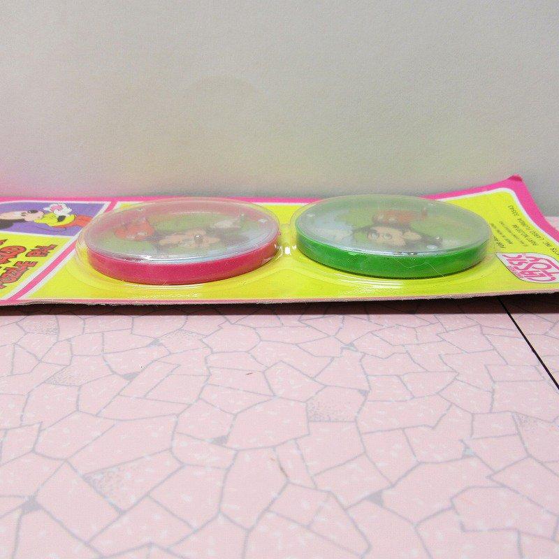 ミッキー プラスチック製 パズル デッドストック イレギュラー品【画像4】