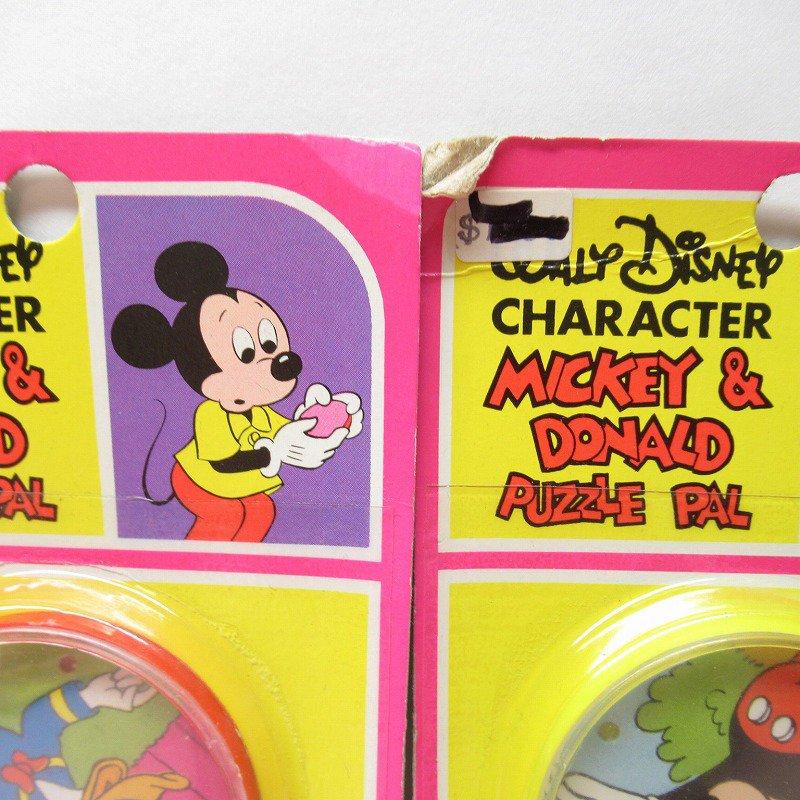 ミッキー & ドナルド パズル デッドストック 大量入荷特別価格ご奉仕品【画像9】