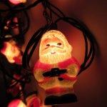 オーナメント&デコレーション  クリスマス ゼネラルエレクトリック サンタクロース イルミネーションライト