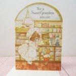 未使用  キャット Sweet Grandma 未使用カード 封筒付き