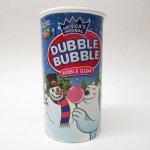 並行輸入品・現行品食品パッケージなど  ダブルバブルガム Double Bubble クリスマス バージョン 貯金箱ケース パッケージのみ