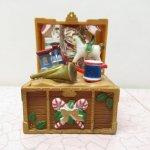 オーナメント&デコレーション  クリスマス オーナメント プラスチック製 宝箱