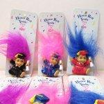 レディス  トロール人形 90年代 卒業式 デッドストック PVC ピン 各種