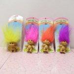 レディス  トロール人形 90年代 デッドストック PVC ピン 各種