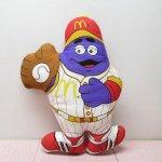 ★NEW ARRIVAL★  マクドナルド ピロードール グリマス ベースボール 1988年 A