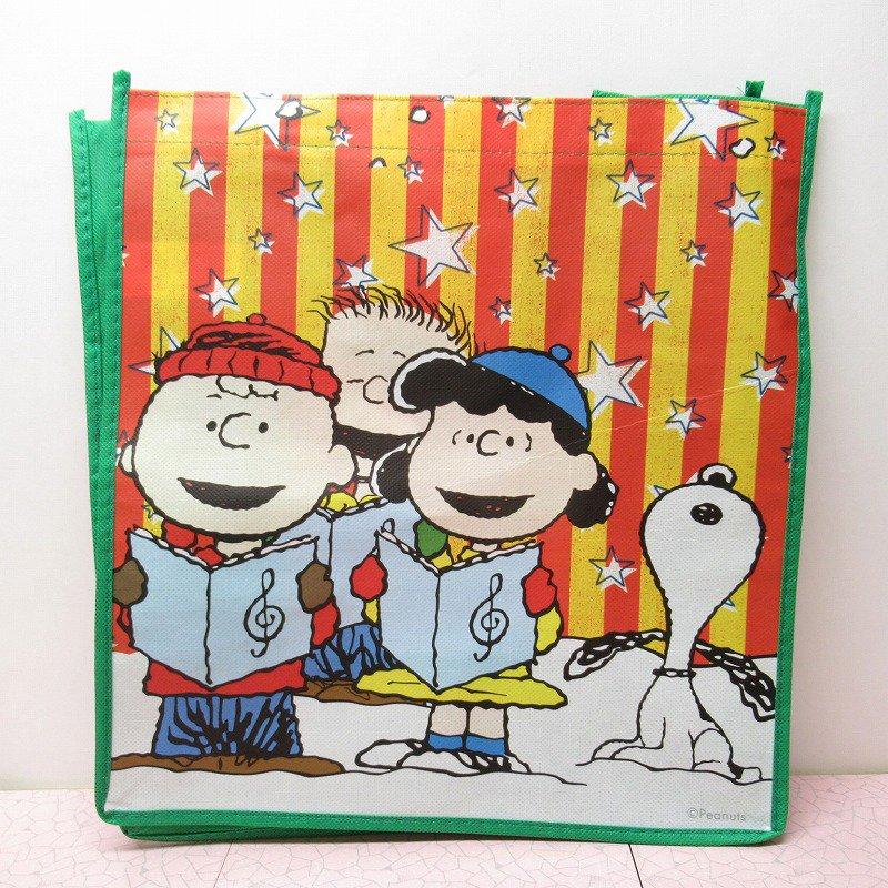 スヌーピー クリスマス エコバッグ