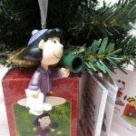 ツリーにつけるオーナメント  スヌーピー クリスマス オーナメント 50周年記念 ルーシー 箱付