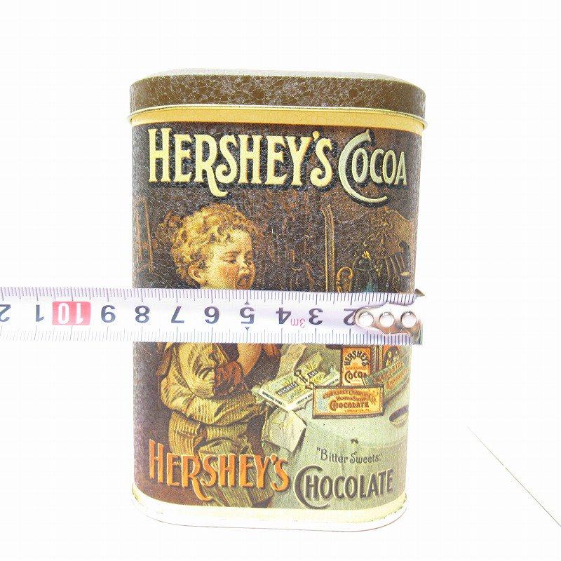 ハーシーズ アンティーク風プリント イギリス製 1984年 ティン缶【画像8】