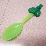 プラスチック&メラミン食器  31アイスクリーム バスキンロビンス キッズ用スプーン 1995年
