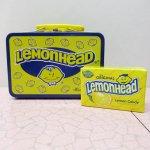 販促系  ティン缶 レモンヘッド ミニランチ ボックス