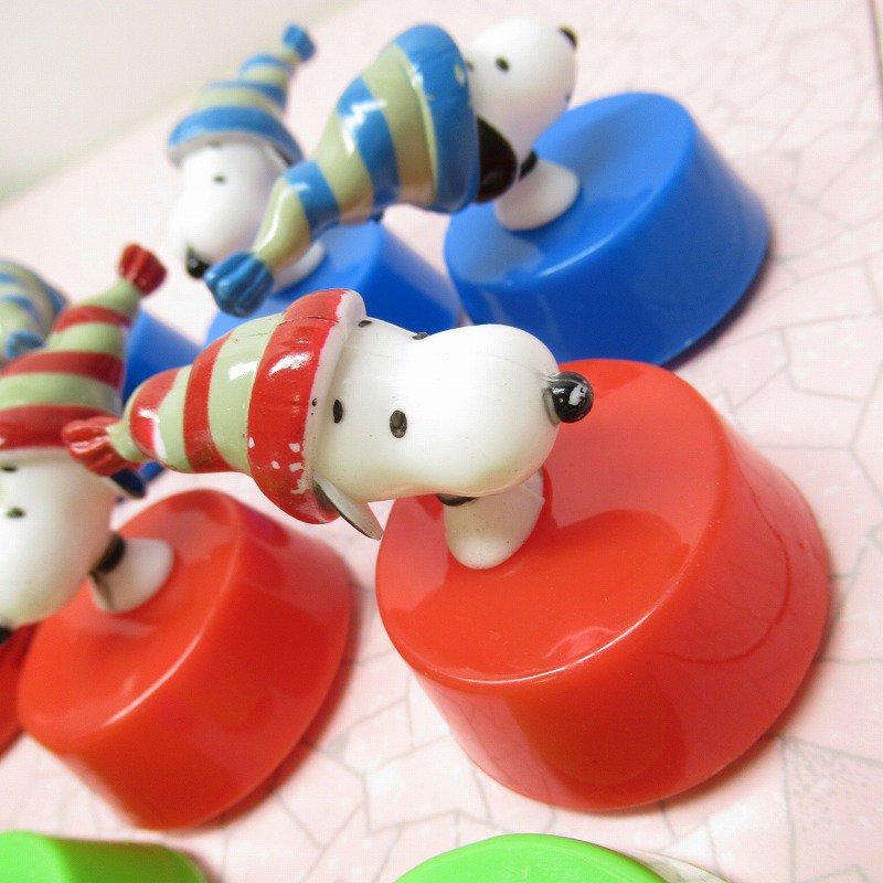 スヌーピー クリスマス 毛糸の帽子 プルバック トイ【画像6】