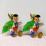 キャラクター  ピノキオ ディズニー クリスマス オーナメント