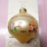 ツリーにつけるオーナメント  クリスマスオーナメント 1984年 ガラス製 God Child クリスマスエルフ