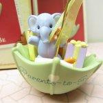 ツリーにつけるオーナメント  クリスマス オーナメント ホールマーク 箱付 水色象さん
