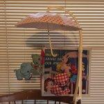 おままごと・お人形遊びアイテム・おもちゃ・ガラガラなど  ナーサリー アニマル ベビーモビール デッドストック 箱入り 1971年