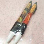 鉛筆・ペン  マクドナルド 並行輸入正規品 ポテト&バーガーデザイン 2本セット