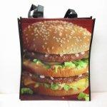 アドバタイジング・組織系  マクドナルド 並行輸入正規品 ビッグマックバーガー ビッグ エコバッグ