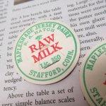 ミルクキャップ  ミルクキャップ ヴィンテージ Maplesh Ade Raw Milk 蓋