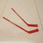 マドラー ヴィンテージ アイスホッケースティック Spokane 2本セット 赤