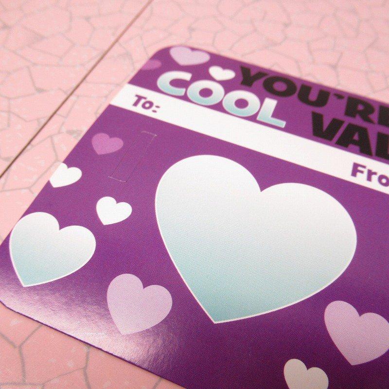 スヌーピー Joe Cool 日本未販売 バレンタインカード サングラス付き 未使用【画像8】