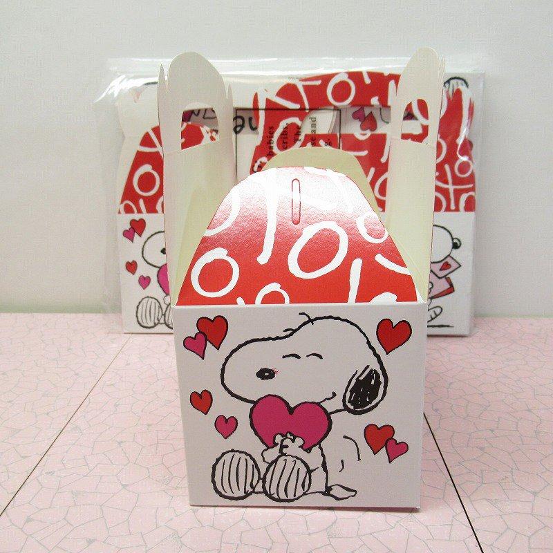 スヌーピー 日本未販売 バレンタイン ギフトボックス 未使用【画像3】